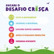 Oxfam lana desafio Cresa e convite por mudanas alimentares